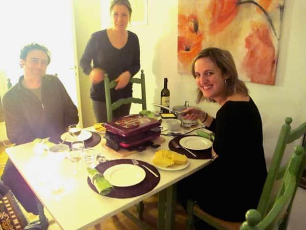 Raclette en Zúrich