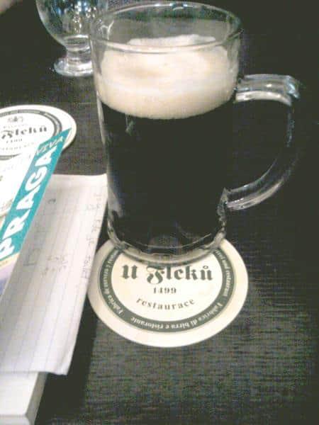 Cerveza negra en U Fleku
