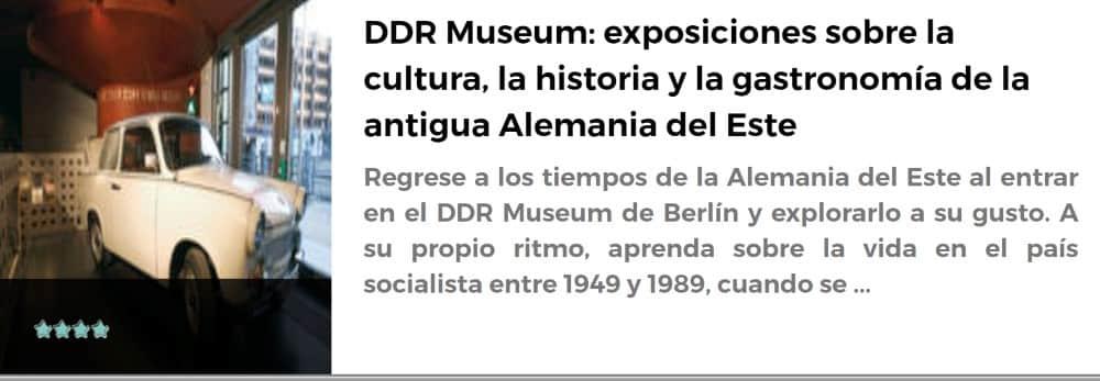 Museo DDR en Berlín