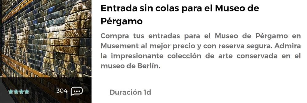 Entrada para el Museo del Pérgamo