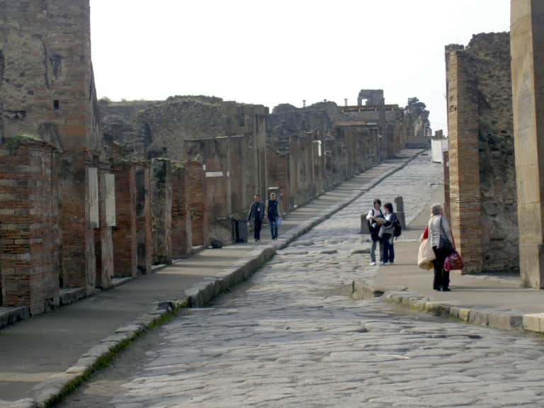 Calles Pompeya Italia