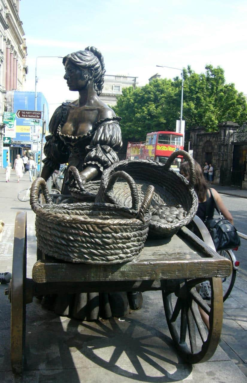 La Estatua de Molly Malone