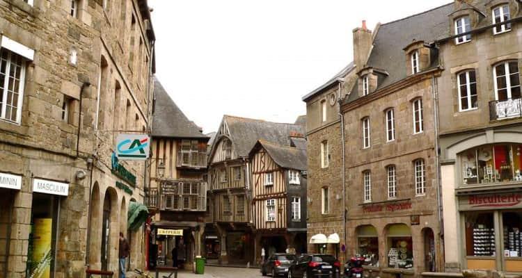 Calles Dinan Francia