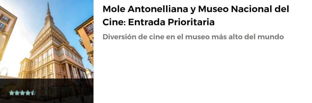 Entrada a la Mole Antonelliana