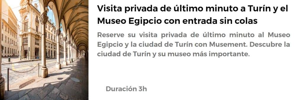 Visita al Museo Egipcio de Turín