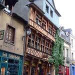 Casco antiguo Rennes Francia