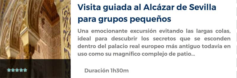 Visita al Alcázar de Sevilla