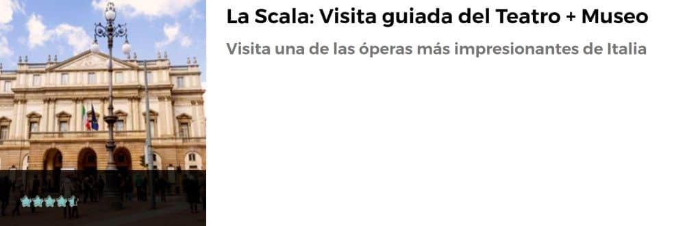 Visita guiada en La Scala