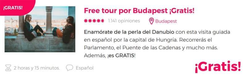 Free tour por Budapest