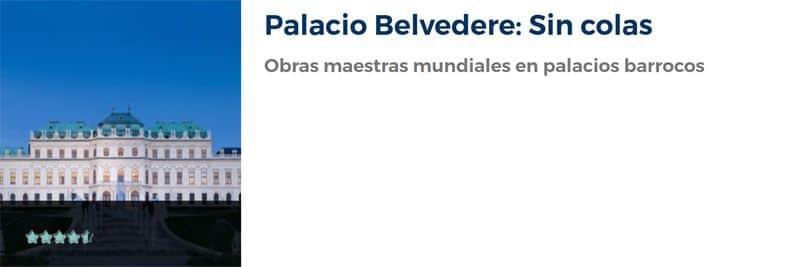 Entradas para el Palacio Belvedere