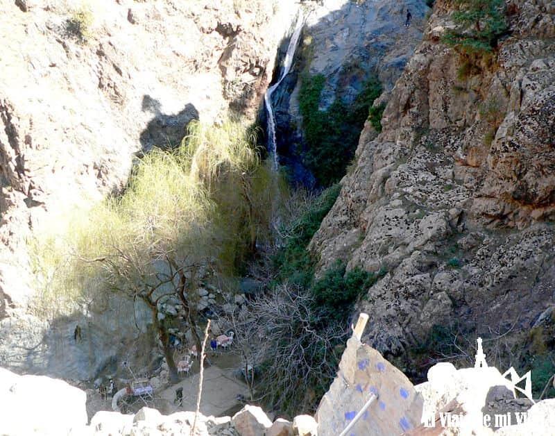 Cascada en el Valle de Ourika