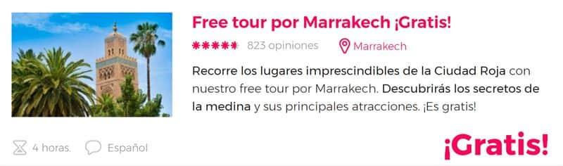 Free tour por Marrakech