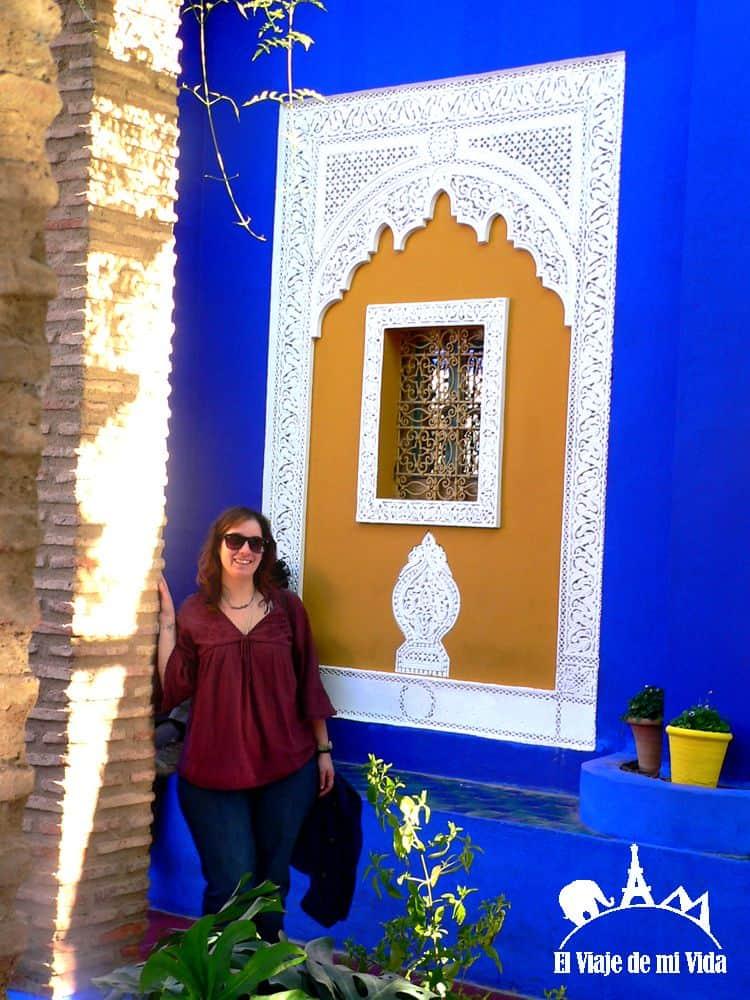 Casa de Yves Saint Laurent en Marrakech