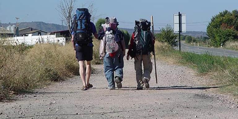 Peregrinos Camino Santiago