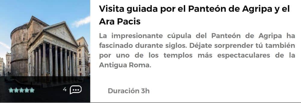 Visita guiada al Panteón
