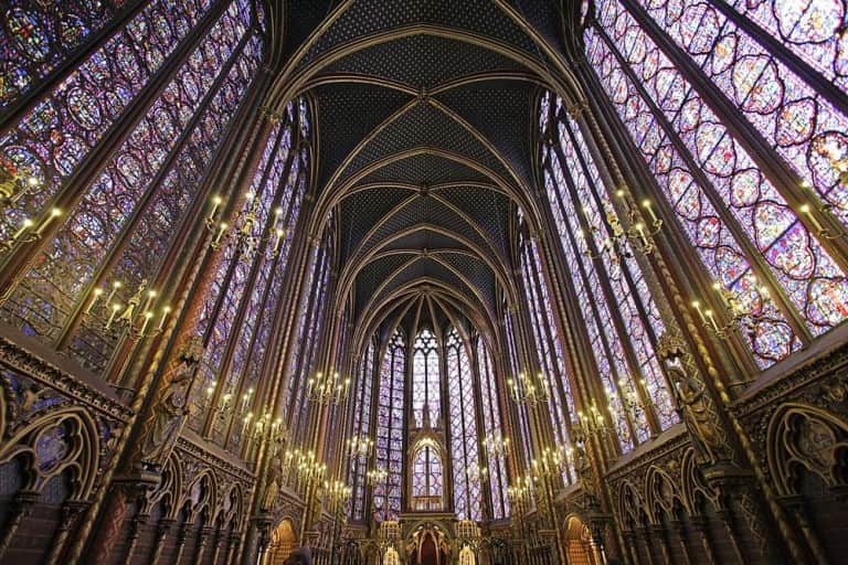 Sainte Chapelle París Francia