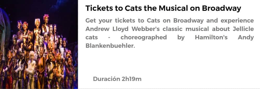 Entradas para Cats en Broadway