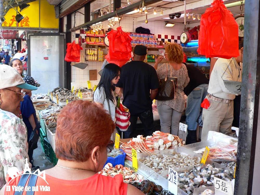 Mercados de Chinatown
