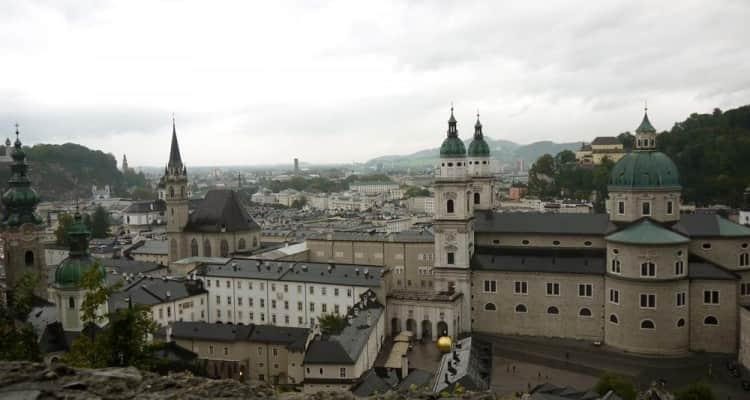 Mirador Fortaleza Hohensalzburg Salzburgo Austria