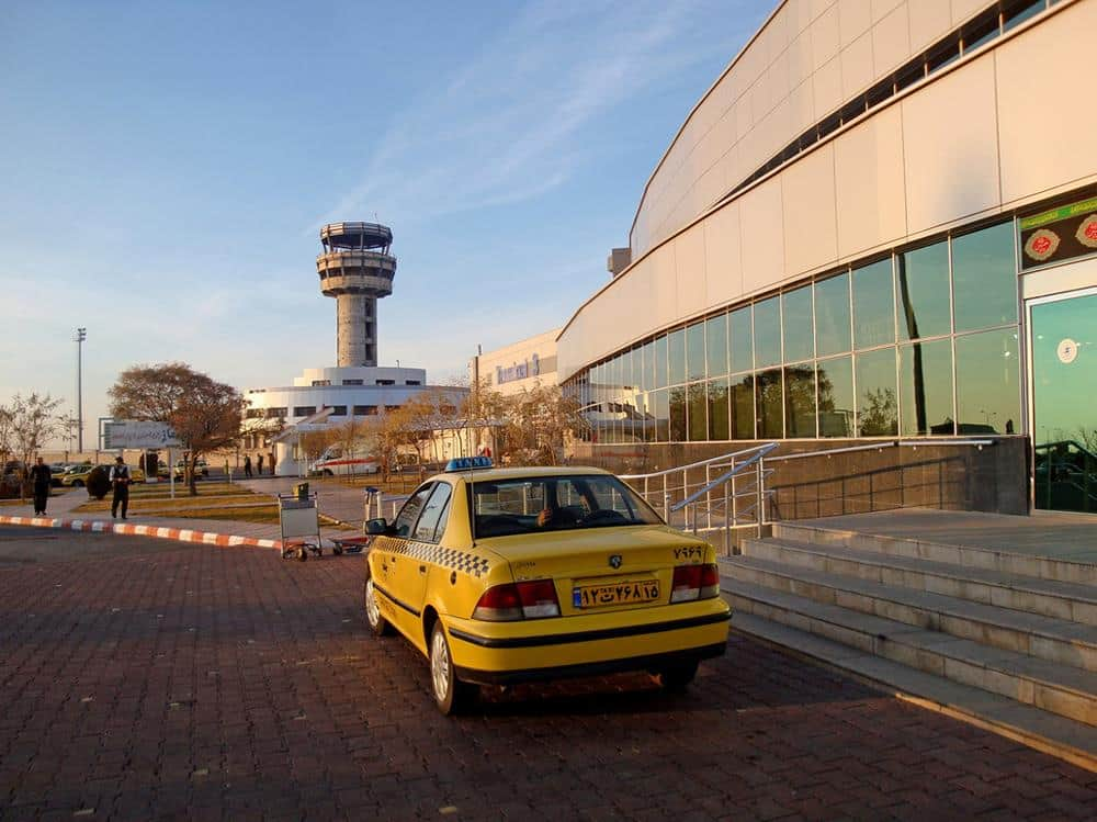 Taxi en el Aeropuerto