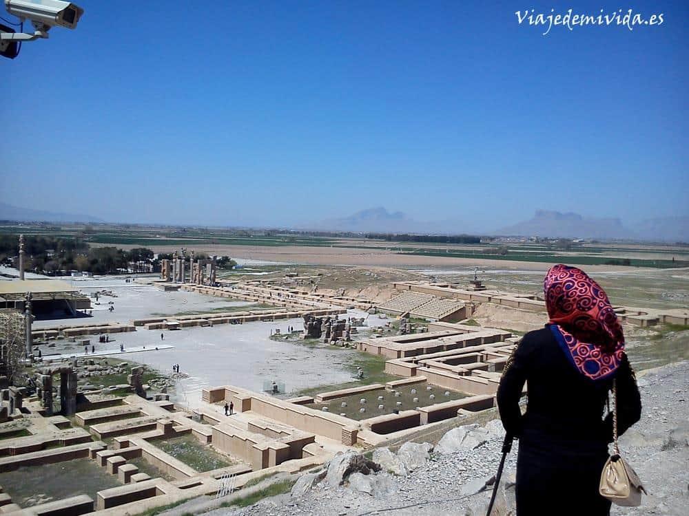 Las ruinas de Persépolis