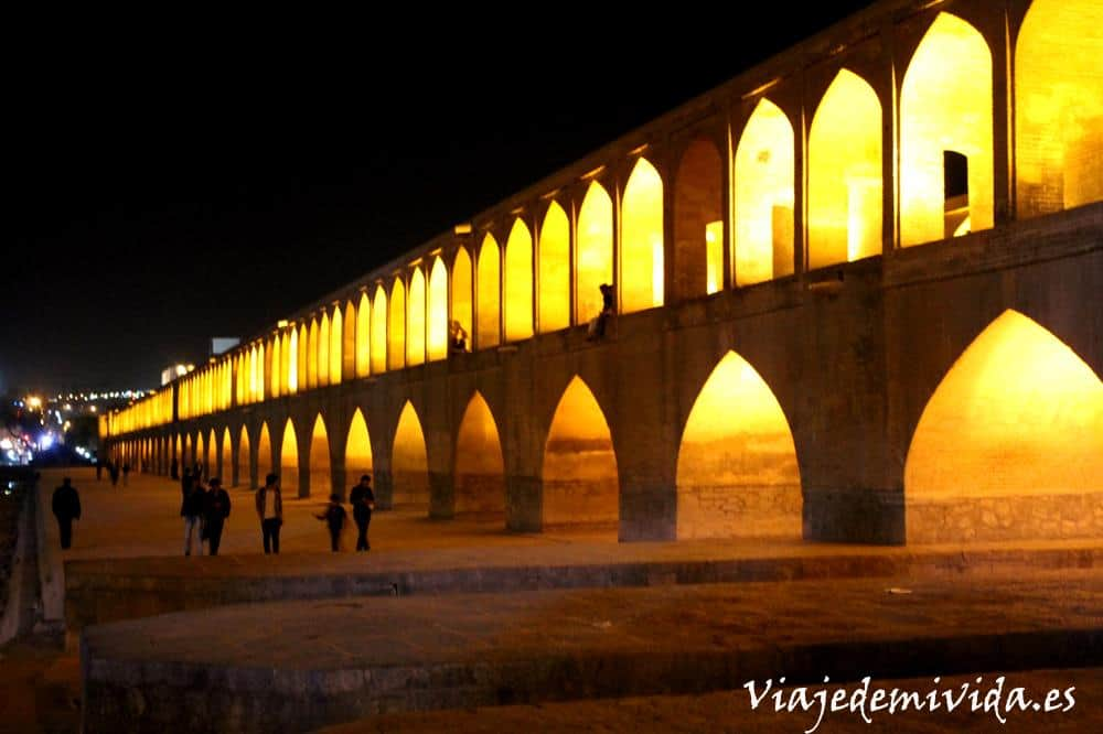 Khaju Bridge Isfahan Iran