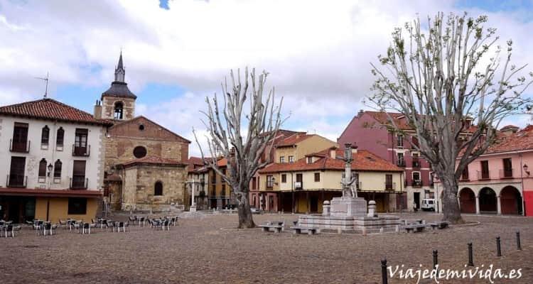 Plaza del Grano León España
