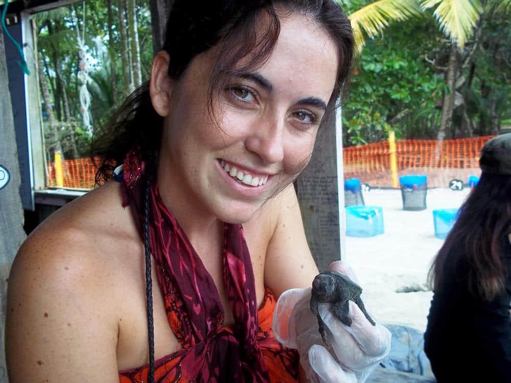 Patricia en Costa Rica Voluntariado Cooperatour