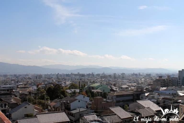 Vistas Kioto Japón