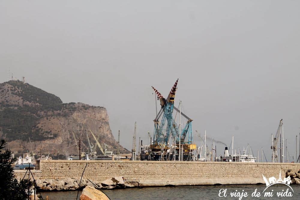 Plataforma Petrolifera Palermo Sicilia