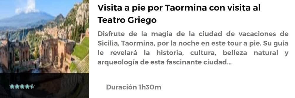 Excursión a Taormina
