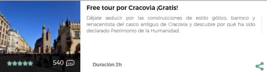 Free tour por Cracovia