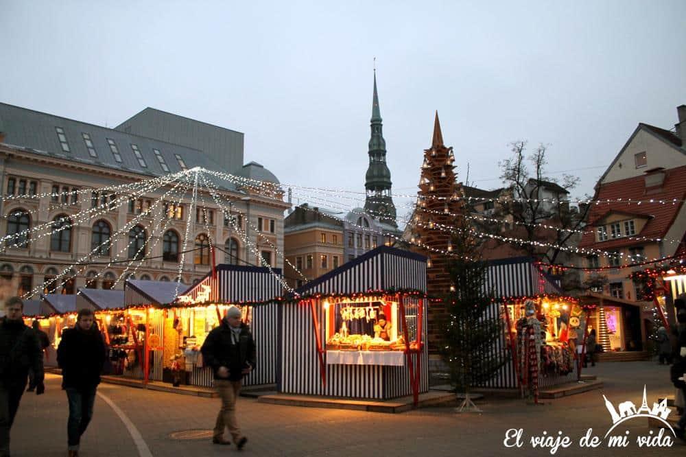 Navidad Riga Lituania