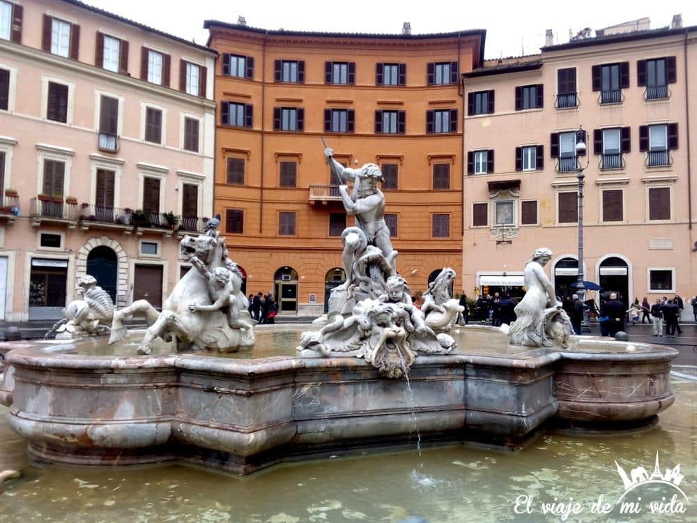 Piazza Navona en Roma