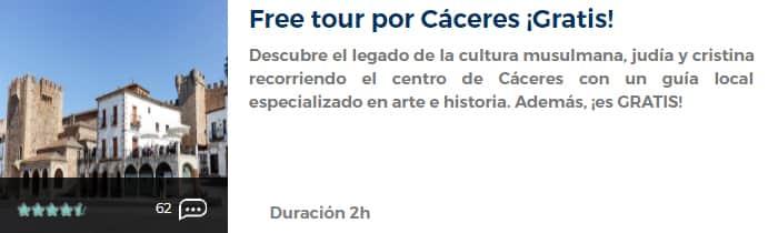 Free tour por Cáceres