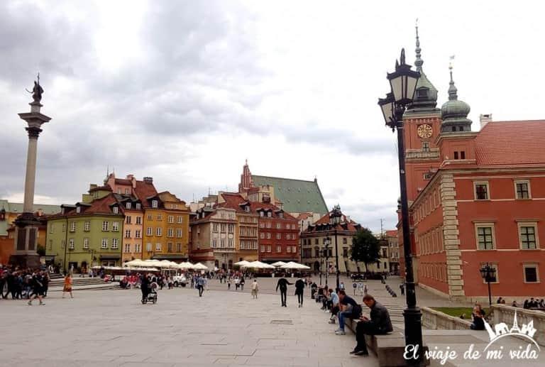 Centro de Varsovia, Polonia