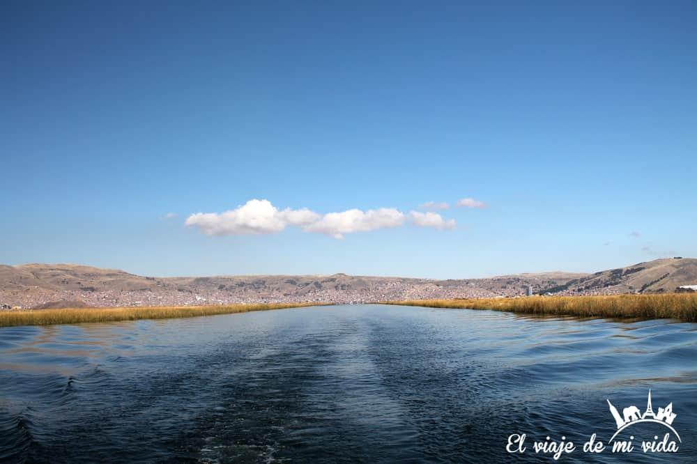 Lago Titicaca en Perú