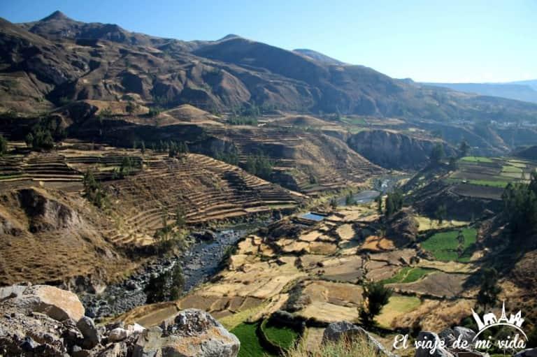Valle del Colca en Peru