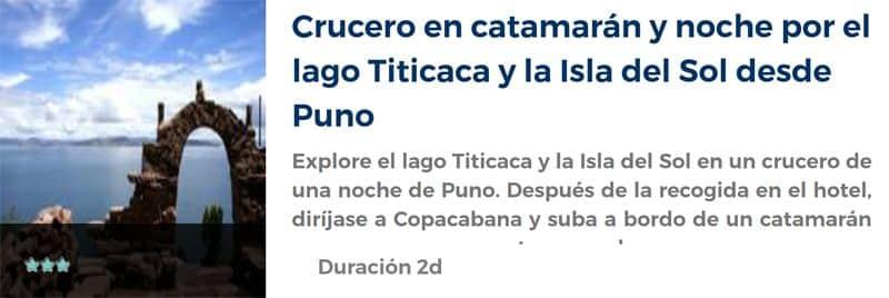 Excursión por el lago Titicaca