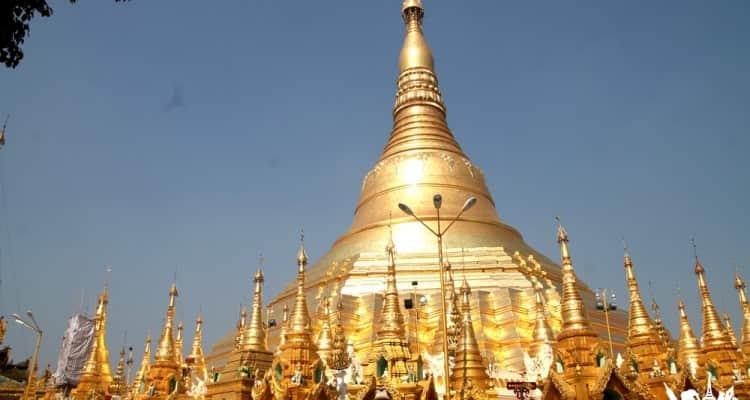 La pagoda Shwedagon