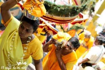 Ceremonias en Batu Caves, Kuala Lumpur