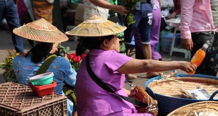 Mercados de Myanmar