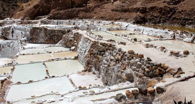 Salineras de Maras en Perú