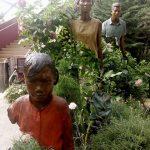 Homenaje a los emigrantes en Gardens by the Bay en Singapur