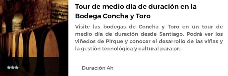 Tour por la Bodega Concha y Toro