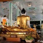 La pagoda Shwedagon en Rangún, Birmania