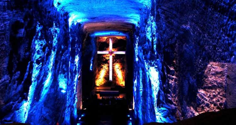 Catedral de Sal, a las afueras de Bogotá, Colombia