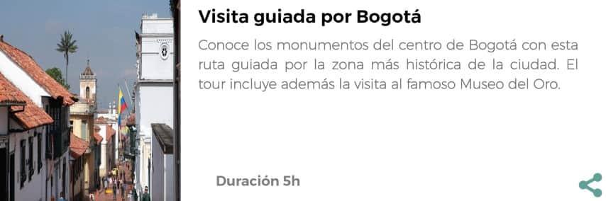 Visita por Bogotá