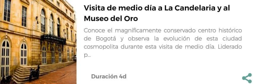 Visita al Museo del Oro de Bogotá