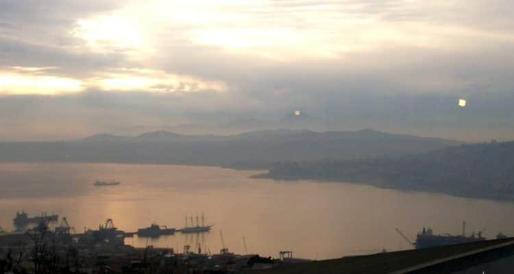 Las increíbles vistas del hostal Costa Azul en Valparaíso